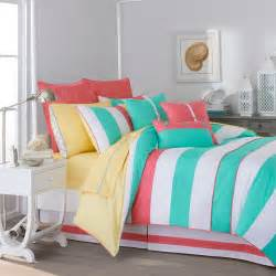 Teen Girls Bedding by Southern Tide Cabana Stripe Comforter Collection Amp Reviews