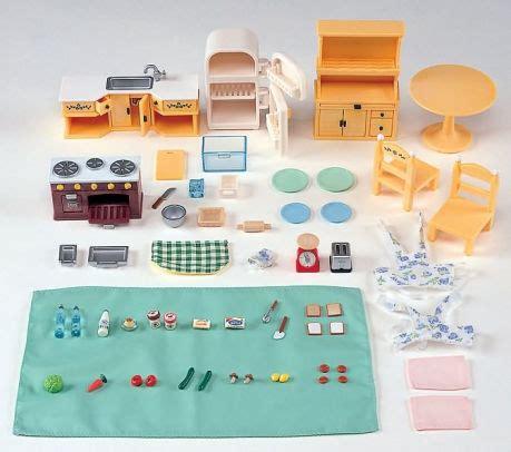 calico critters kitchen calico critters kozy kitchen set 20373222571 item