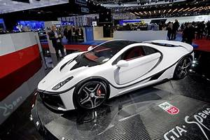 Spain's Spania GTA Debuts New GTA Spano Chock-Full With
