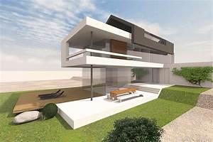 Modernes Haus Mit Satteldach : modernes wohnhaus mit satteldach entwurf f r ein schmales grundst ck mit architecture i ~ Orissabook.com Haus und Dekorationen