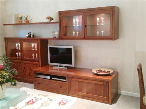 soggiorni in ciliegio soggiorno classico legno massello tinto ciliegio offerta