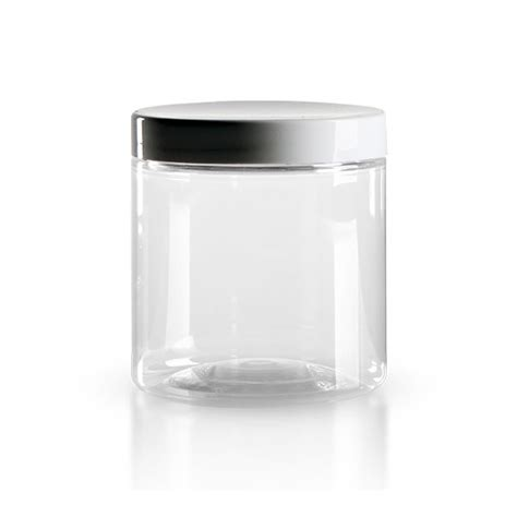 Pot Alimentaire En Verre by Pot 224 Vis En Pet Clair 250 Ml Avec Couvercle Blanc Pots 224 Vis En Pet Transparent Pots En
