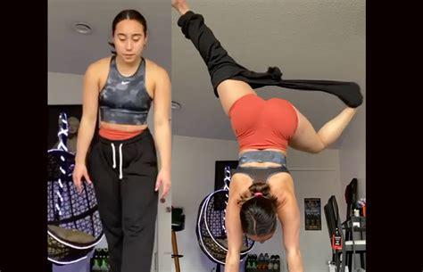 Gymnast Katelyn Ohashi Goes Viral For Removing Pants ...