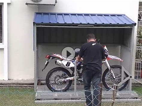 Motorrad Garage  Sehr Geile Idee