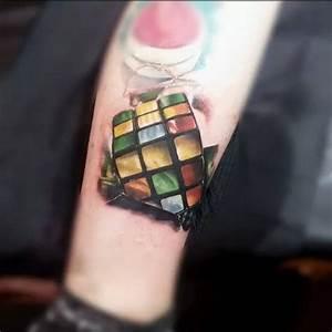 Rubik's Cube   Best tattoo ideas & designs
