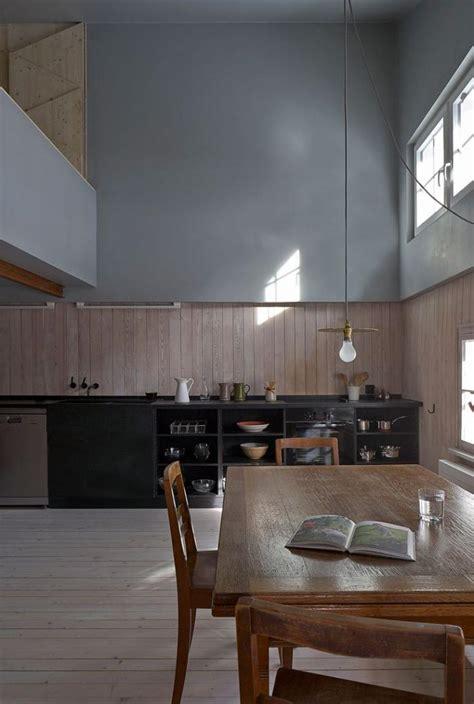 lambris plafond cuisine le lambris mural décoratif en 40 photos archzine fr