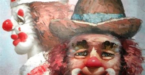 Sale Vintage Collectible W Moninet's Clowns By