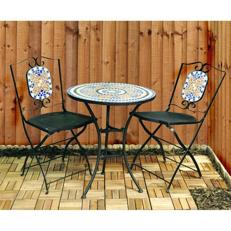 mosaic bistro table and chairs mosaic bistro table and chairs garden furniture set by