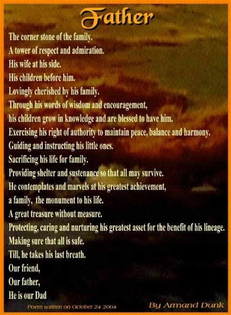 foundation   family fathers day poems happy