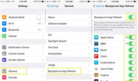 Background Refresh How To Save Some Battery With Background App Refresh