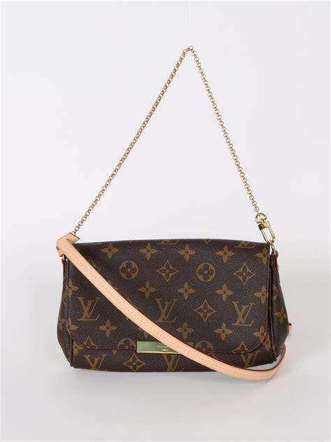 louis vuitton favorite pm monogram canvas luxury bags