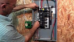 How To Hook Up A Generator To Your Electrical Panel The