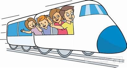 Train Clipart Travel Vacation Clip Summer Cliparts