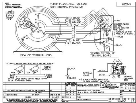 marathon electric motor 8vk145tbdr5326d wiring diagram