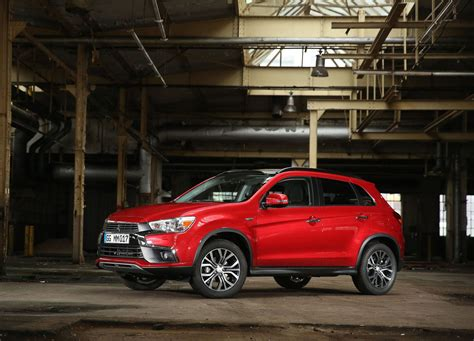 "2017 Mitsubishi Asx Facelift Gets ""dynamic Shield"" Design"