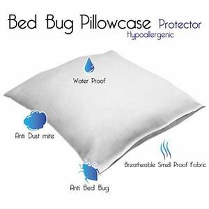 remedy cotton bed bug and dust mite pillow protector With bed bug pillow cases