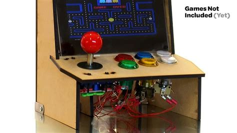 raspberry pi arcade cabinet size picade the arcade cabinet kit for your mini computer by