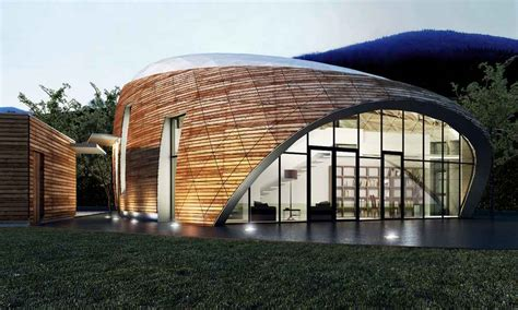 House In Romania Free Form Buildings, Residence Earchitect