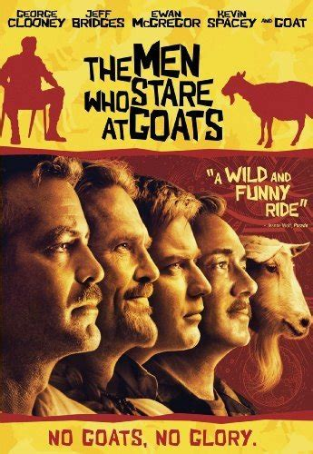 review   men  stare  goats
