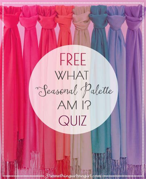 color me beautiful quiz free quiz what is your seasonal color palette color