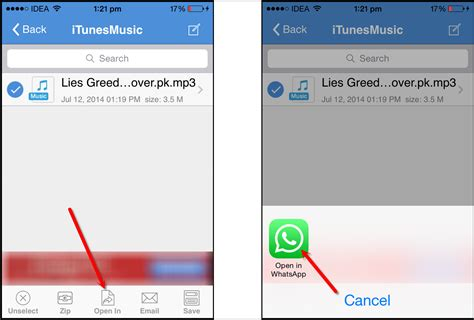 files on iphone how to send files on whatsapp iphone tech brij