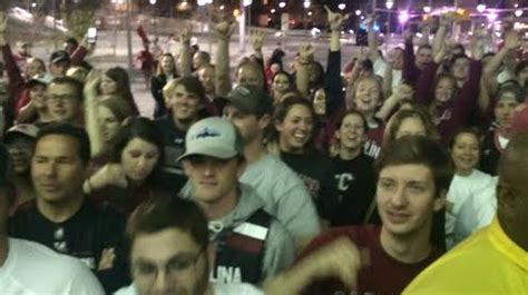 Fans To Welcome Home Gamecocks Tonight At 10 Pm