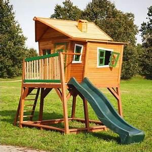 Cabane Pour Enfants En Bois MAX 340x180x283cm AXI