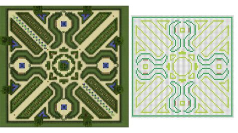 Minecraft Chateau Plan