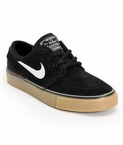 Nike SB Stefan Janoski GS Black, White, & Light Brown Gum ...