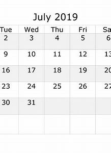 Free Printable Calendar October 2020 July 2019 Calendar With Week Numbers Printable Start By