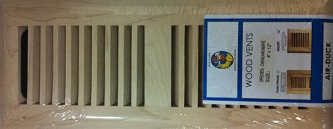 Canadian Maple Vent Covers, Floor Registers and Floor Grills