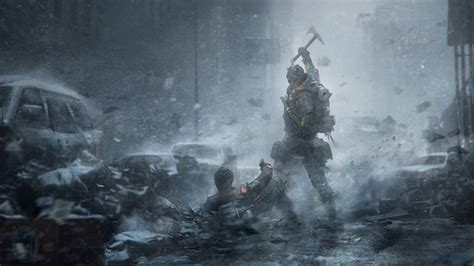 the division background tom clancys the division survival artwork hd 4k