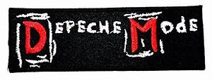 depeche mode Band Electronic Rock Music logo Patch Sew ...