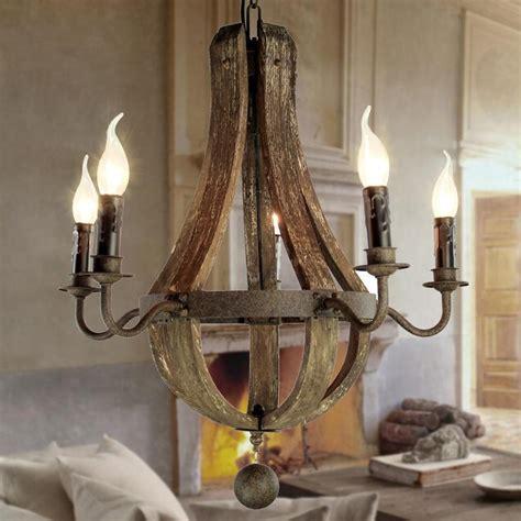 Cheap Vintage Chandeliers by Wholesale Vintage Chandeliers 5 Lights Wood Chandelier