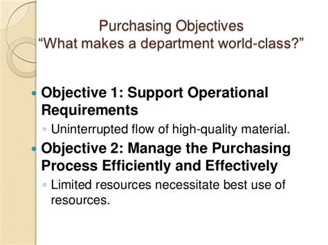 What Can I Use As An Objective On My Resume by Materials Management Sessions 1 And 2