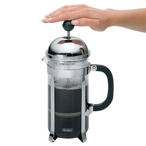 What type of coffee should i use? Bonjour 12 Cup Monet French Press Coffee Maker - Meyer Canada