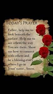 Todays Prayer Quotes Gorgeous Best 25 Today's Prayer Ideas ...