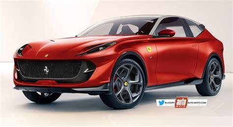 Ferrari Suv (2019)  Il Arrive Fin 2019