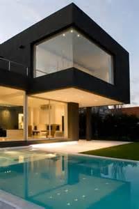 Home Design Exterior And Interior The Black House For Casa Mck Digsdigs