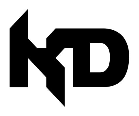 official flat kd logo by dakhaosdesigns on deviantart