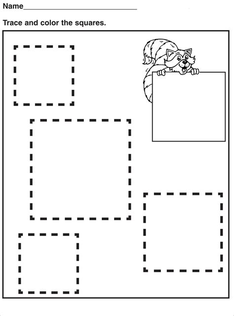 tracing pages  preschool activity shelter