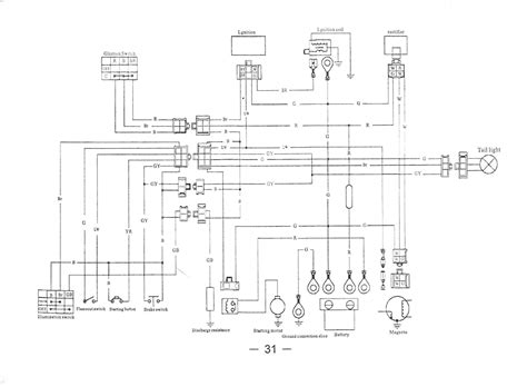Atv Ignition Wiring by 4 Wire Ignition Switch Diagram Atv Untpikapps