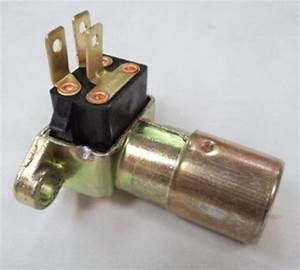 Street Rod Gm Floor Mount Headlight Dimmer Switch 3 Prong Chevy Ford Mopar