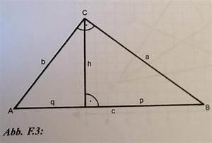 Dreieck Umfang Berechnen : fl cheninhalt fehlende angaben im rechtwinkligen dreieck berechnen fl che umfang h 3 6cm q ~ Themetempest.com Abrechnung