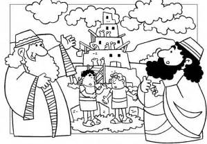 Tower of Babel Coloring Page Printable