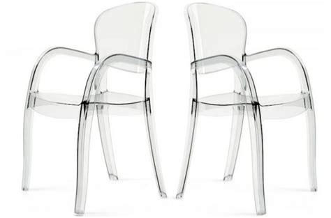 chaises transparentes pas cher chambre a coucher italienne pas cher 10 lot de 2 chaises transparentes victor chaises design