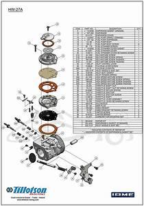 Tillotson Iame X30 Carburetor