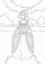 Deviantart Antoinette Coloring Tisku Mandaly Adults Adult Omalovanky Fc03 Zdroj Pinu sketch template