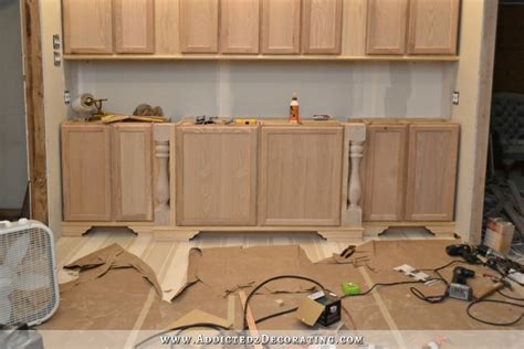unfinished kitchen island base cabinets diy decorative for stock cabinets