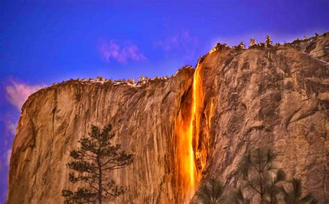 Five Yosemite Falls Sierra Nevada United States